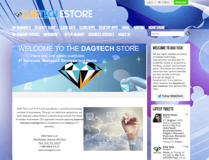 DAG Tech EStore